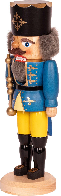 """Nussknacker """"König"""" blau SAICO - 29 cm"""