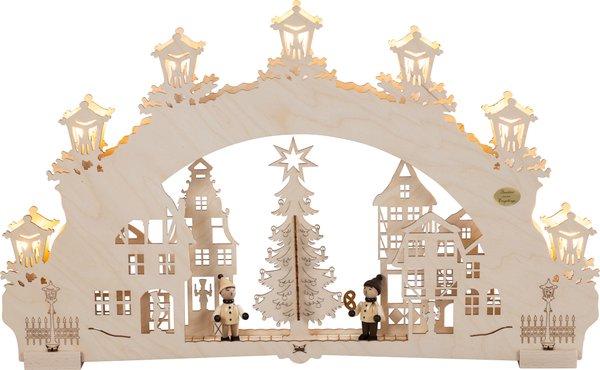 """3D-Lichterbogen """"Auf dem Weihnachtsmarkt"""""""