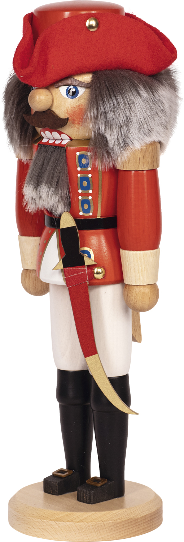 "Nussknacker ""Gerneral"" rot SAICO - 36 cm"