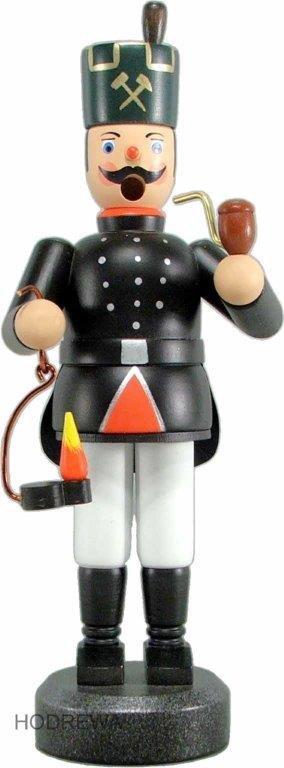 Räuchermann Bergmann mit Lampe HODREWA - 21cm