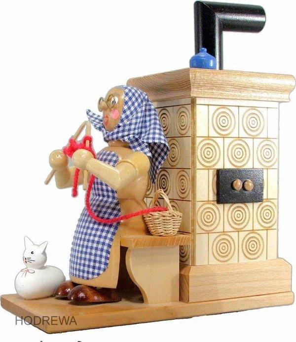 Räucherofen Oma am Ofen Natur Ofen HODREWA - 21cm