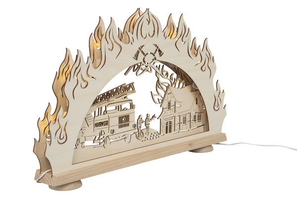 """3D-Lichterbogen """"Feuerwehr"""""""