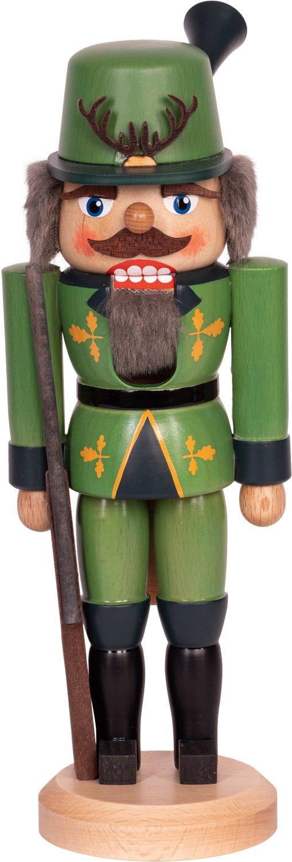 "Nussknacker ""Jäger""grün SAICO - 29 cm"