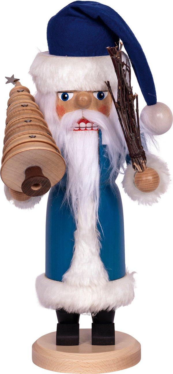 """Nussknacker """"Weihnachtsmann"""" blau SAICO - 36 cm"""