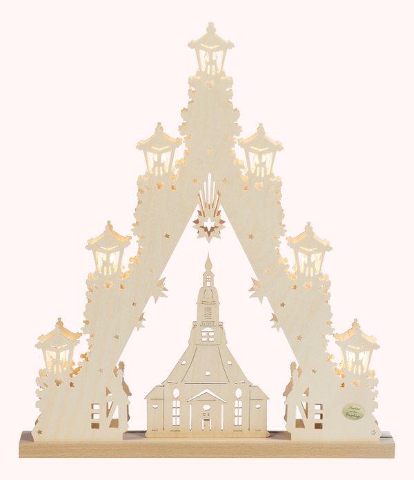 """3D-Lichterspitze """"Seiffener Kirche"""""""