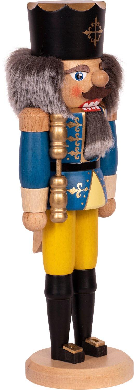 """Nussknacker """"König"""" blau SAICO - 36 cm"""