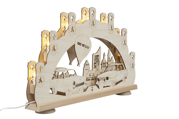 3D-Lichterbogen ''Trabant''