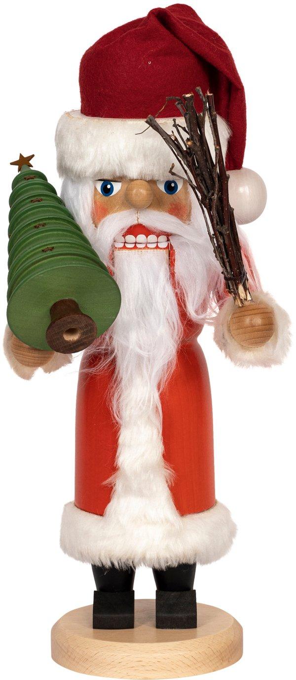 "Nussknacker ""Weihnachtsmann"" rot SAICO - 36 cm"