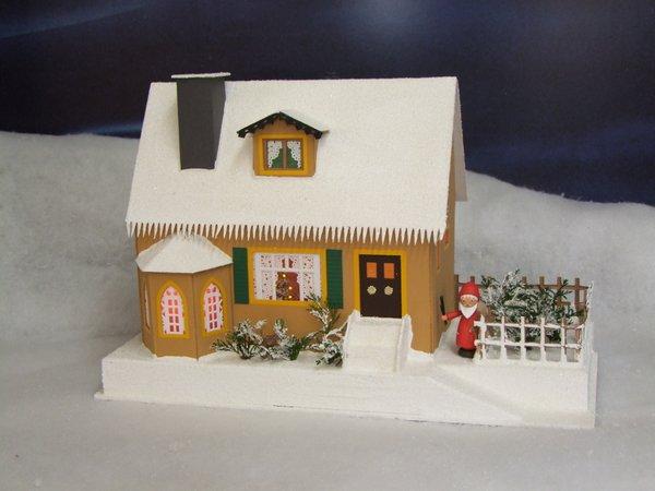 Lichterhaus Haus mit Weihnachtsstube 504