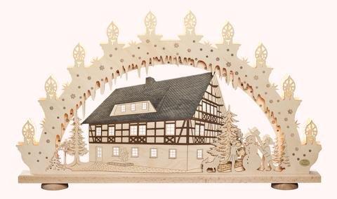 """3D-Lichterbogen """"Fachwerkhaus"""""""