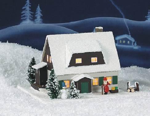 Lichterhaus Erzgebirgshaus mit Vorhäusel 601