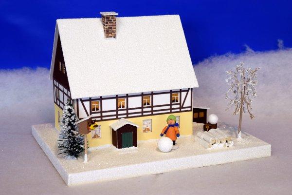 Lichterhaus Fachwerkhaus mit Vorhäusel 611