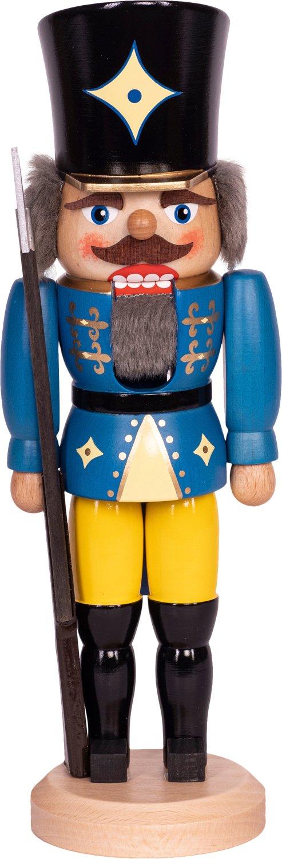 "Nussknacker ""Soldat"" blau SAICO - 36 cm"
