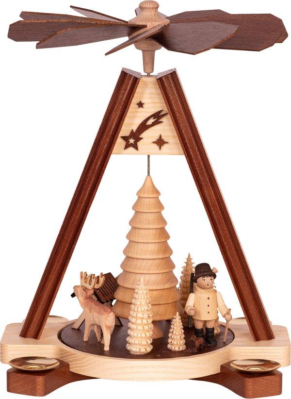 """Premium Tischpyramide """"Wald""""  SAICO - 28cm"""