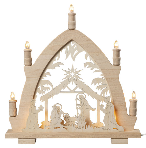 """Lichterspitze """"Christi Geburt"""""""