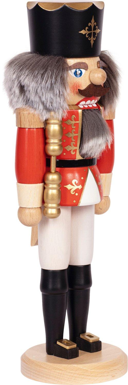 """Nussknacker """"König"""" rot SAICO - 36 cm"""