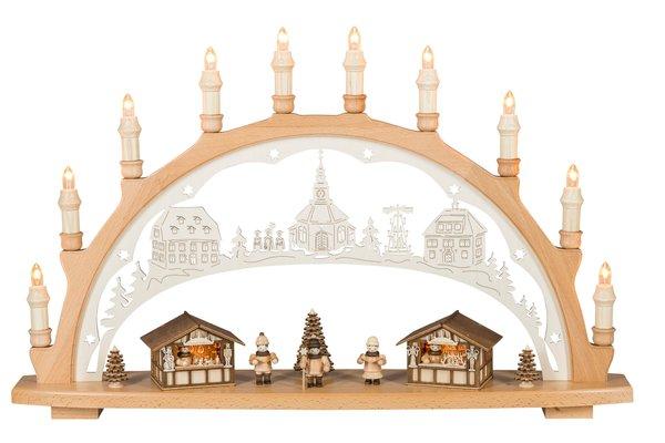"""Lichterbogen """" Weihnachtsmarkt"""""""