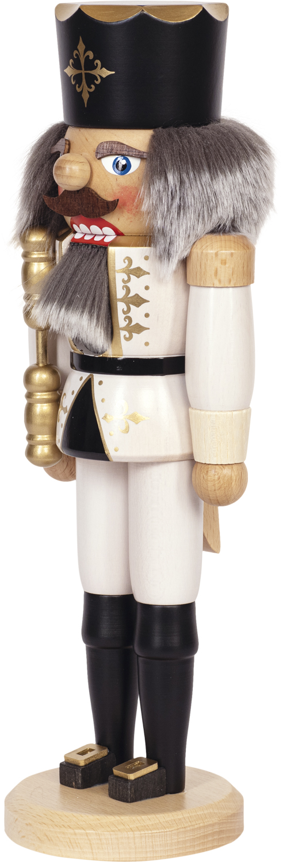 "Nussknacker ""König"" weiß SAICO - 36 cm"