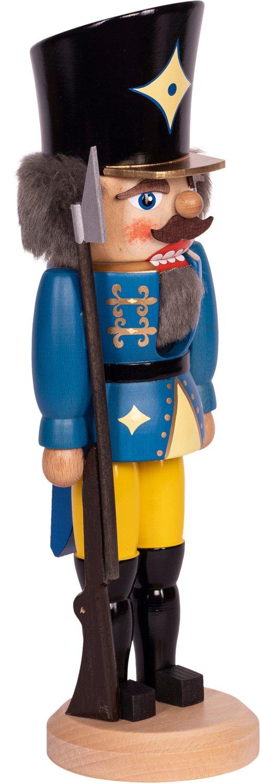 "Nussknacker ""Soldat"" blau  SAICO - 29 cm"