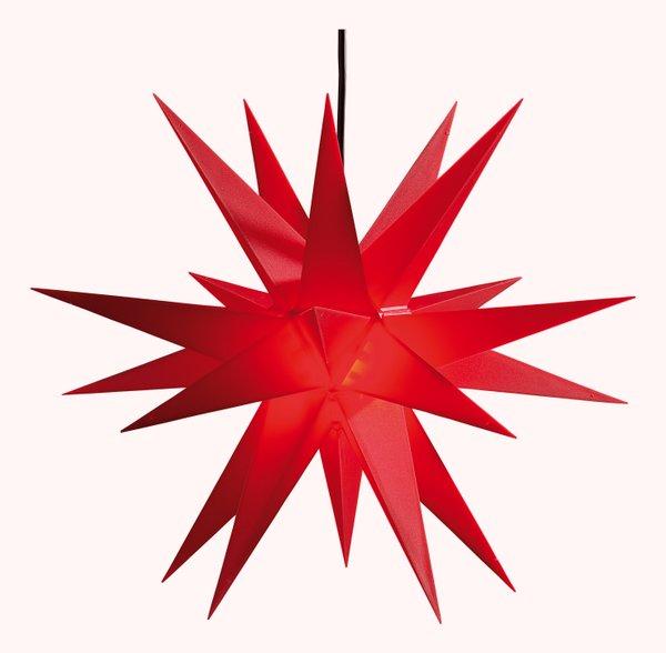SAICO-Adventsstern für den Innen- und Außenbereich Ø ca. 60 cm rot