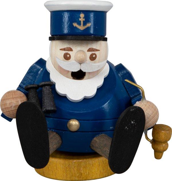 """Räucherfigur mini """"Kapitän"""" SAICO - 8cm"""