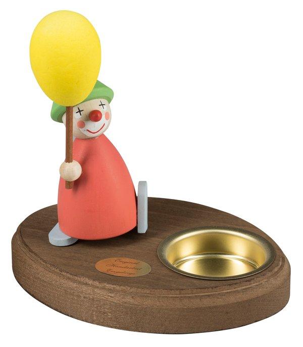 """Leuchter 1 Teelicht """"Clown mit Luftballon"""""""