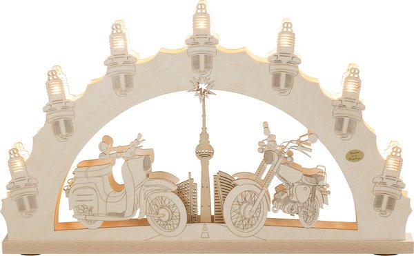"""3D-Lichterbogen """"Moped"""""""