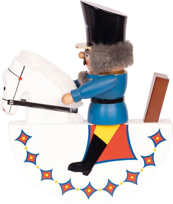 """Reiterlein"" Nussknacker blau SAICO - 25cm"