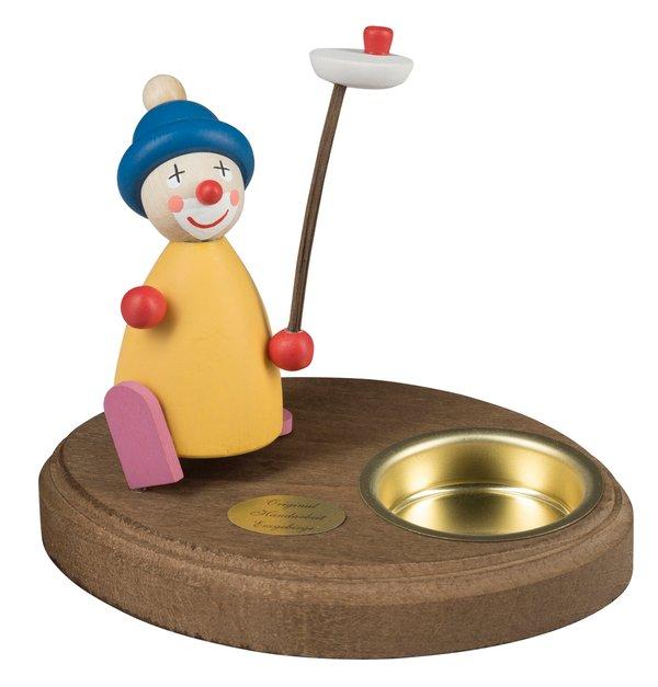 "Leuchter 1 Teelicht ""Clown Jongleur"""