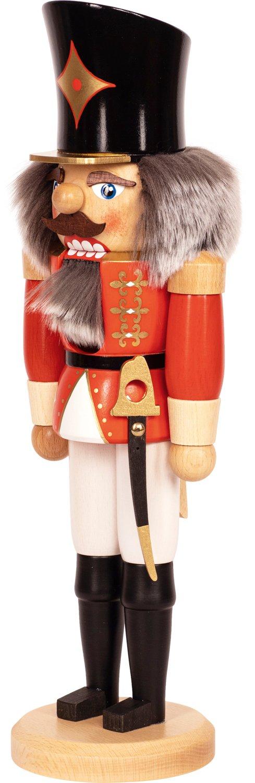 """Nussknacker """"Husar"""" rot SAICO - 36 cm"""
