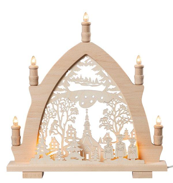 """Lichterspitze """"Seiffener Kirche"""""""