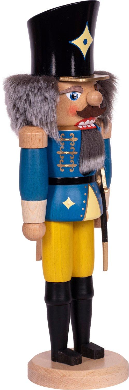 "Nussknacker ""Husar"" blau  SAICO - 29 cm"