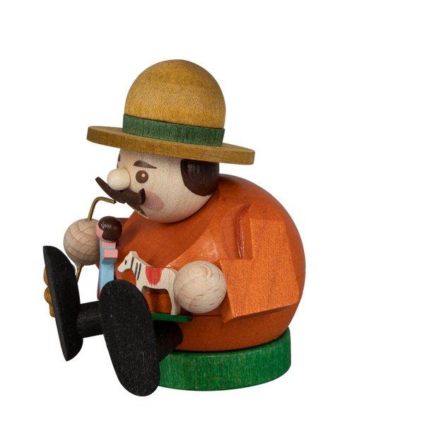 """Räucherfigur mini """"Spielzeugverkäufer"""" SAICO - 8cm"""
