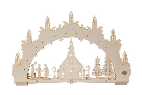 """3D-Lichterbogen """"Seiffener Kirche"""""""