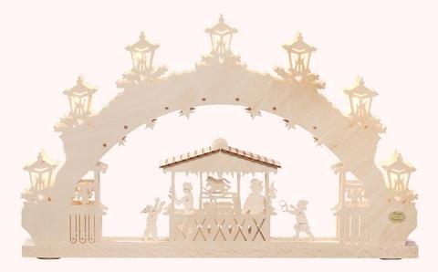 """3D-Lichterbogen """"Weihnachtsmarkt"""""""