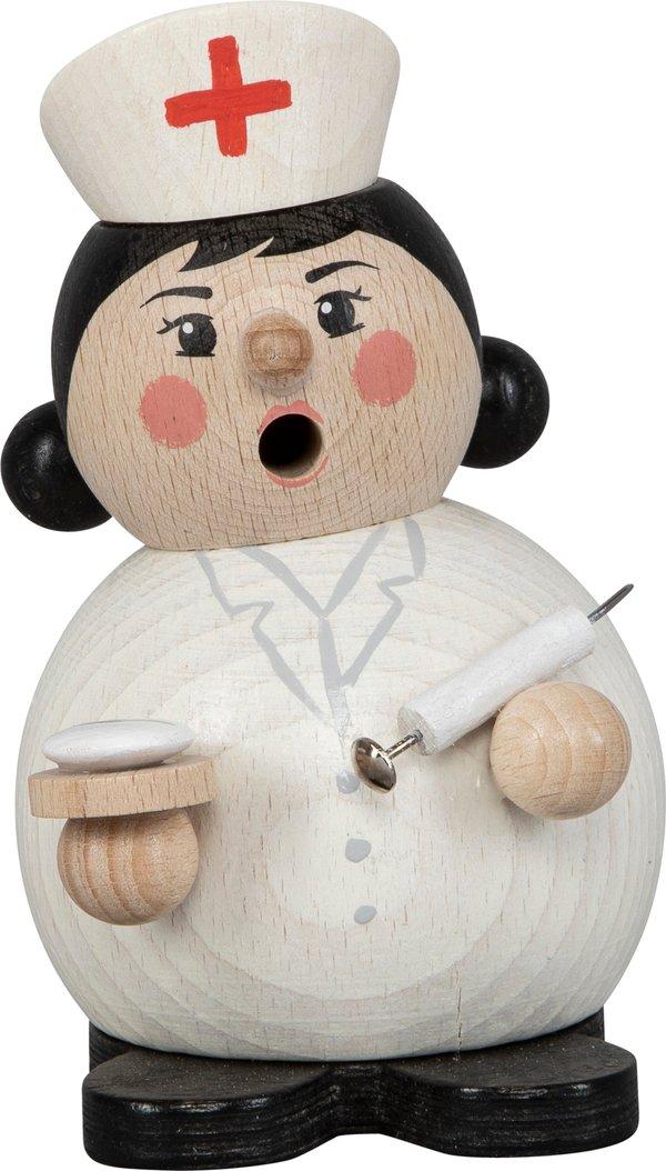 """Räucherfigur """"Krankenschwester"""" SAICO - 12cm"""
