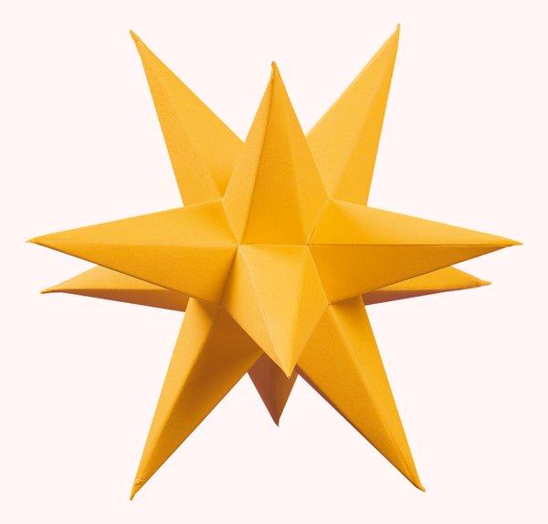 Marienberger Adventssterne 3-Sterne Set gold