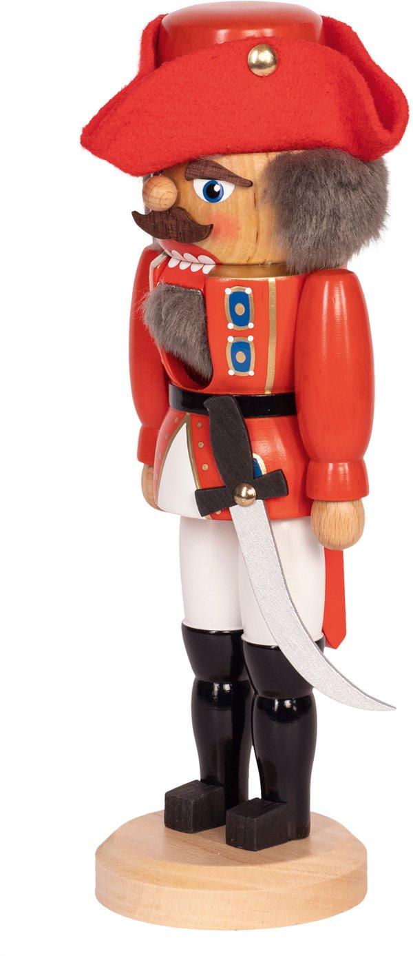 """Nussknacker """"General"""" rot SAICO - 29 cm"""