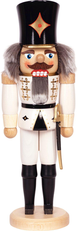 "Nussknacker ""Husar"" weiß SAICO - 29 cm"