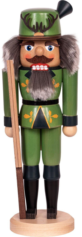 "Nussknacker ""Jägerr"" grün  SAICO - 36 cm"