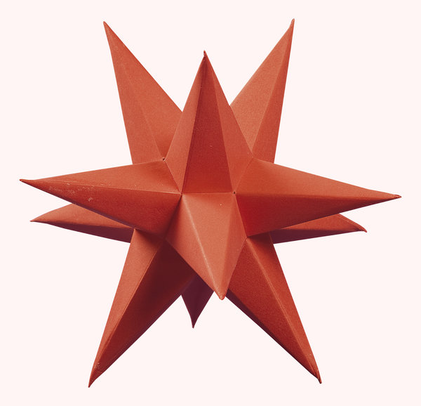 Marienberger Adventssterne 3-Sterne Set rot