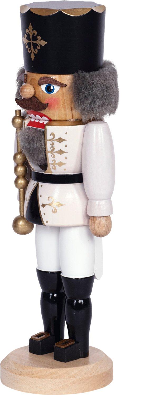 "Nussknacker ""König"" weiß SAICO - 29 cm"