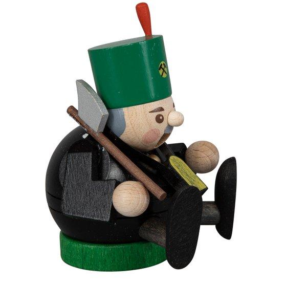 """Räucherfigur mini """"Bergmann"""" SAICO - 8cm"""